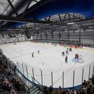 A big crowd turned up to watch the first ice hockey match at Romford's new Sapphire Ice & Leisure Ce