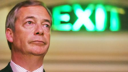 File photo dated 17/01/19 of Nigel Farage at a Leave Means Leave rally at Central Hall in London. Th