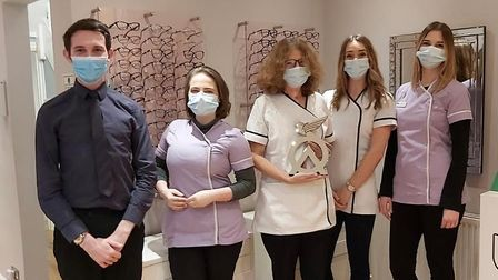 Bowen Opticians staff members