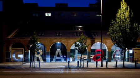 Graeae Theatre Company in Kingsland Road. Picture: Graeae Theatre Company