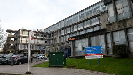 General view of Northwick Park Hospital as staff in England and Northern Ireland to go on strike, No