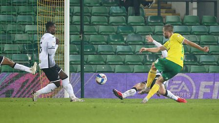 Marco Stiepermann's goal was the difference for Norwich City against Swansea City