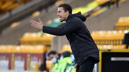 Barnsley Manager Valerien Ismael during the Sky Bet Championship match at Carrow Road, NorwichPict