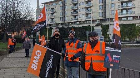 An estimated 7,000 workers downed tools over the new contracts.