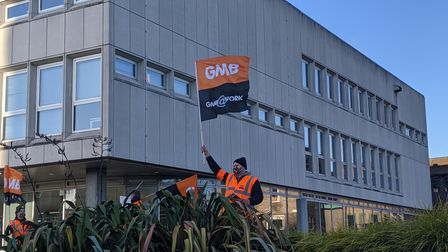GMB has not agreed to a new pay from Centrica, being offered 15pc less than asked for.