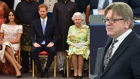 Guy Verhofstadt asked Boris Johnson to emulate the Queen's recent willingness to compromise. Picture
