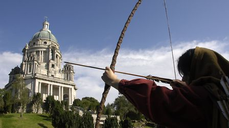 Robin Hood which will be presented by The Dukes in Williamson Park, Lancaster from July 5-August 10,