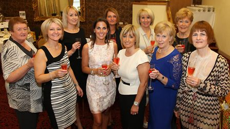 Special Events Committee; (Back row) Terri Miller, Natalie Hutton, Linzi Byrne, Louise Pillitteri, P