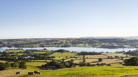 The beautiful Yeo Valley land in Blagdon