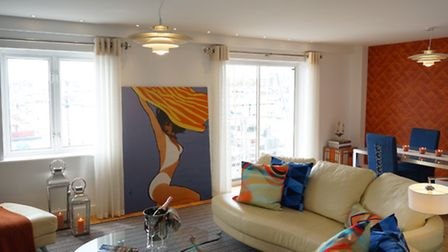 Suffolk mag interiors: The waterfront apartment that Lanassir Lawes of Swank Interiors has been work