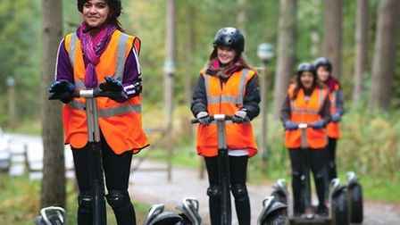 The Segway Experience was lots of fun