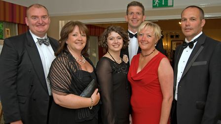 Christopher Barraclough, Maria Pass, Maria Monaghan, Michael Pate, Cheryl Pate and Mark Pass