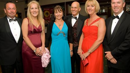 Mark Sumner, Fiona Howarth, Tracy and Geoff Fenton and Michelle and Steve Sheard