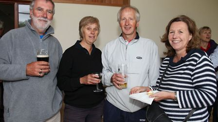 Keith Proudlock, Anne Dundas, Stephen Dundas and Gill Proudlock