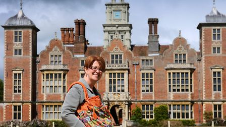 What's in your bag? Helen Bailey, general manager at Blickling Hall. PHOTO: ANTONY KELLY