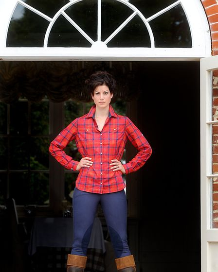 Barbour shirt £69.95 Tredstep breeches £89.95 Dublin boots £159.99 All from Kings Saddlery