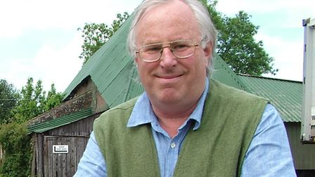 Somerset based author, poet and broadcaster James Crowden
