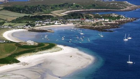 Scilly Isles by Simon Burke from South West Aerial Photography