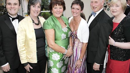 James Tyrrell, CAFODs Chris Lappine, Kath Tyrer, Wendy Marshall, Guy Marshall and Kitty Cannon