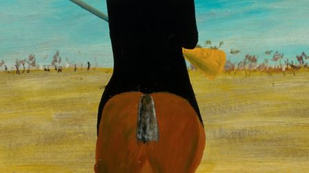 'Ned Kelly' (1946) by Sidney Nolan