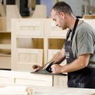 Mark Pearce, the company''s longest-serving cabinet-maker