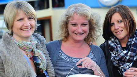 The Women of Worldwide (l-r): Donna Hansen, Lynne Williams and Rebecca Bendle.