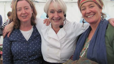 Annette Smallwood, Lesley Waters and Clare Trenchard
