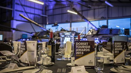The Tank Museum at Bovington was the venue for the inaugural Dorset Tourism Awards