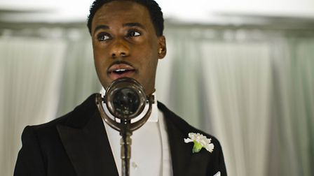 Actor Gary Carr as the band leader Jack Ross in the recent series of Downton Abbey, a character insp