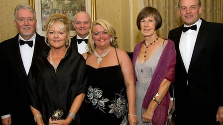 Steve and Sue Gibson with Alyn and Julie Jones and Elizabeth and Pete Cheesebrough