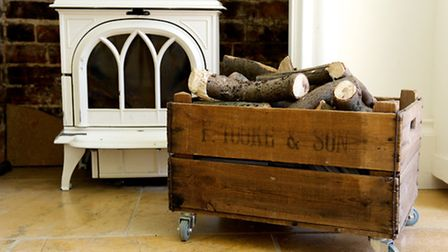 Boots, logs, toys, magazines - this bushel box on wheels is a one-stop stylish storage solution. £45