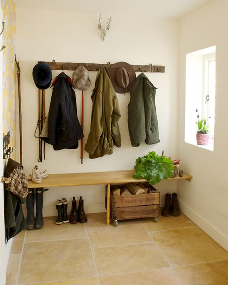 Sort out some storage and get some order into your entrance hall to create a great first impression