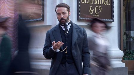 Jeremy Piven as Harry Selfridge. Picture courtesy of ITV Drama