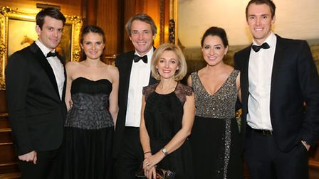 Connor Grimes with Lucy, Alan and Jan Hansen, Rebecca Turner and Adam Hansen