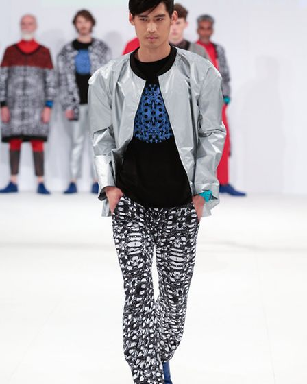 Part of Stephen Garvey's menswear collection. Stephen graduated from AUB in 2013