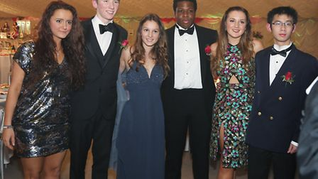 The Poerty Banquet's organising committee members; Beatrice Smith, Matthew Dawson, Karolin Reuther
