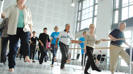 A Parkinson's Dance class - a fun and social way to keep fit and mobile