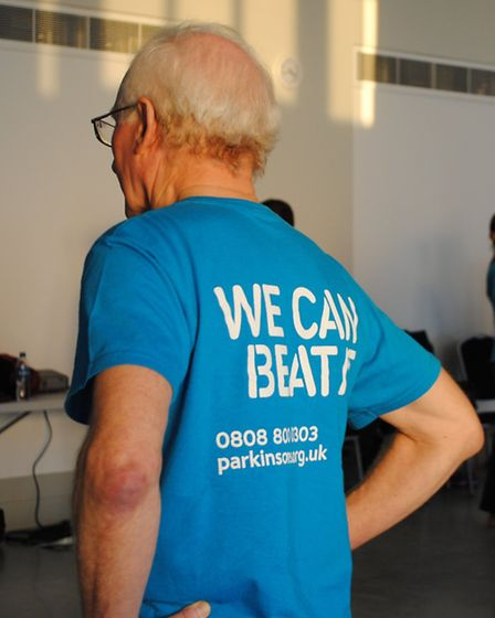 John Wood who has attended Parkinson's Dance since it first started