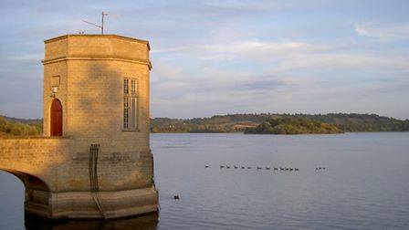 The village of Moreton lies submerged under Chew Valley lake. Photo by Neil Owen