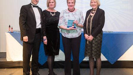 Bridports Highlands End Holiday Park with their Gold from the South West Tourism awards