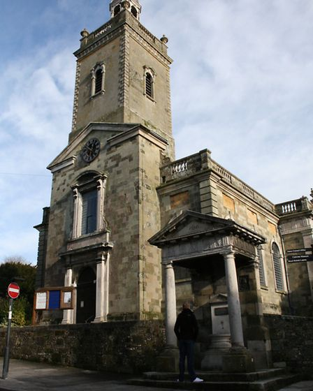 St Peter and St Paul's church - a fine exmaple of Georgian architecture