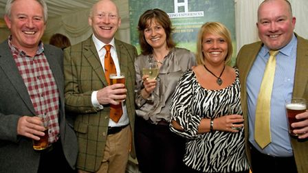 Keith Sykes, Andy Ball, Sue Davies, Sharon Wright and Duncan Thomson