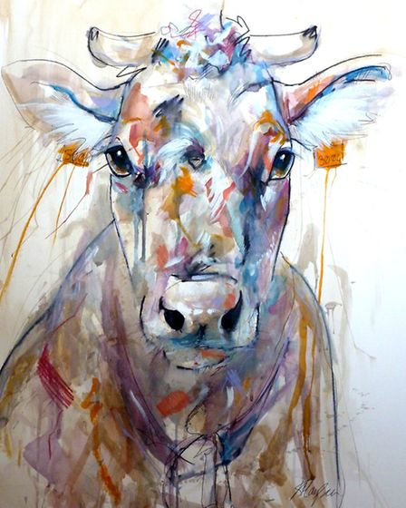 Cow by Katie Hampson