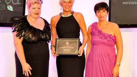 Isla Wilson of Ruby Star Associates, Sarah Southworth of Specialised Cleaning Services and Heather W