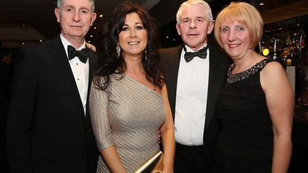 Anthony and Gillian Kennedy with Dennis and Julie O'Sullivan