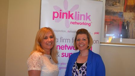 EVAs Founder, Coral Horn, and Emma Collings, of Ian Lucas Security Shutters
