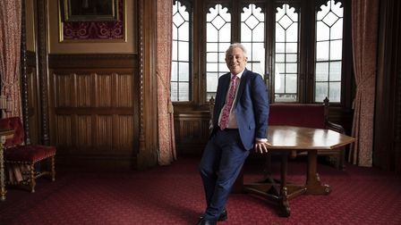 John Bercow MP poses for a portrait inside the House of Commons. (Photo by Dan Kitwood/Getty Images)