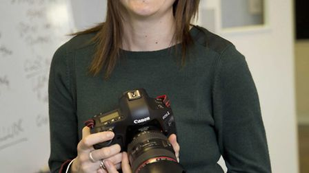 Maggie Burford, Canon '˜Shoot the Show' Vodafone London Fashion Weekend Student Photo Competition w