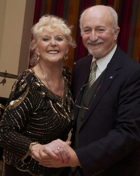 Colin Johnson and Maureen Chalker are regulars at the Lighthouse tea dances.