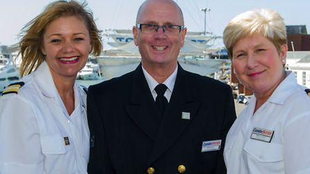 Janine Hocking (Administration), Jeff Robson (Guest Service Manager), Sally Greenwood (Retail Team L
